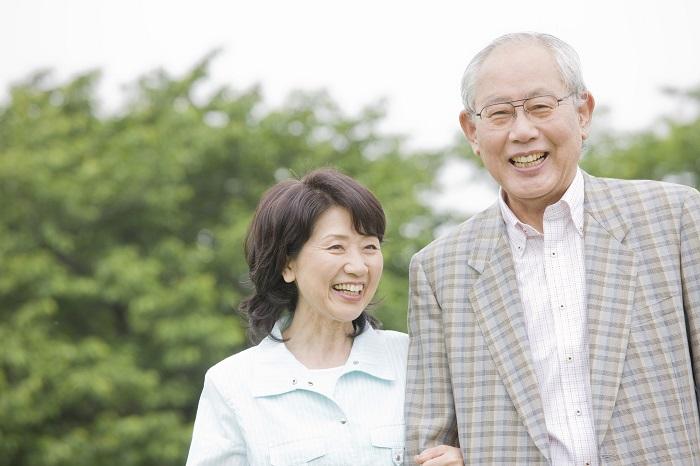 ご高齢の夫婦